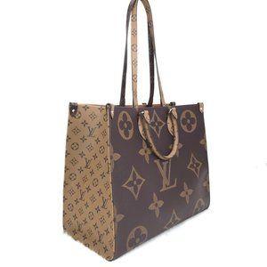 %100 AUTH Louis Vuitton Onthego Canvas Big Bag